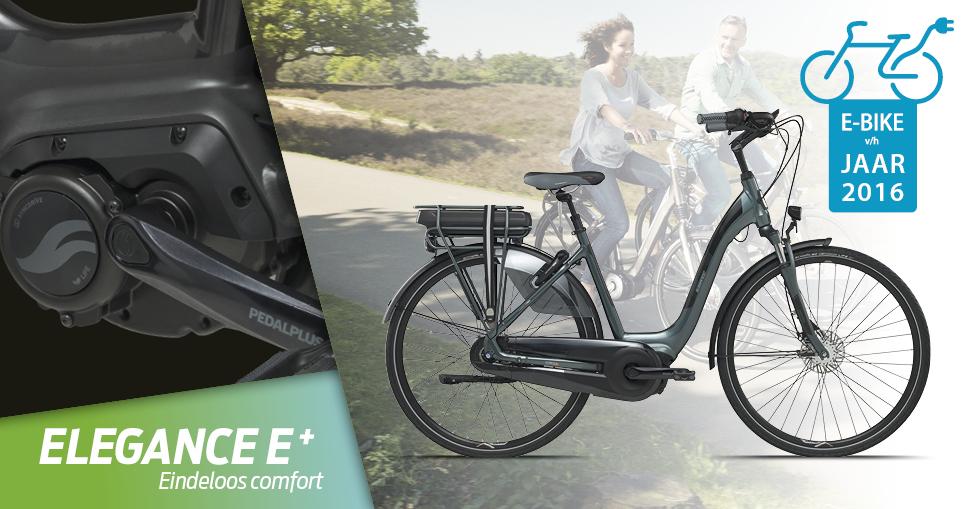 Giant Elegance E-Bike van het jaar 2016!