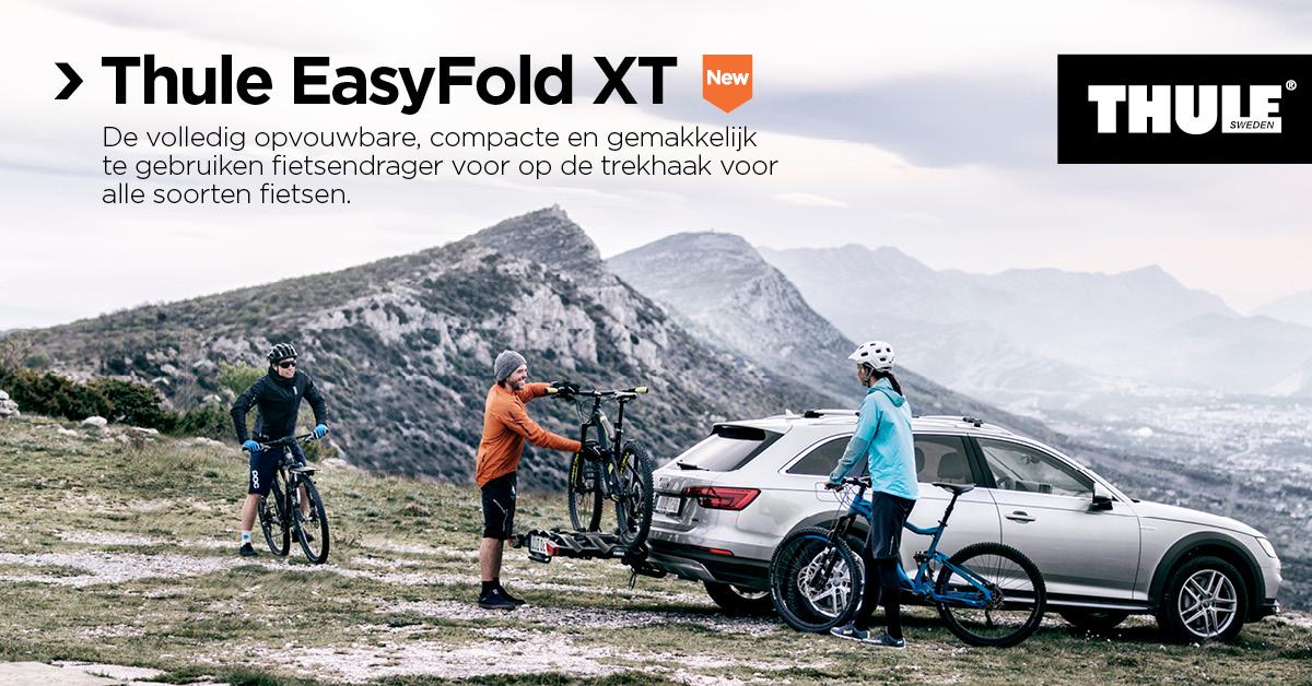 Fietsdrager: Thule EasyFold XT