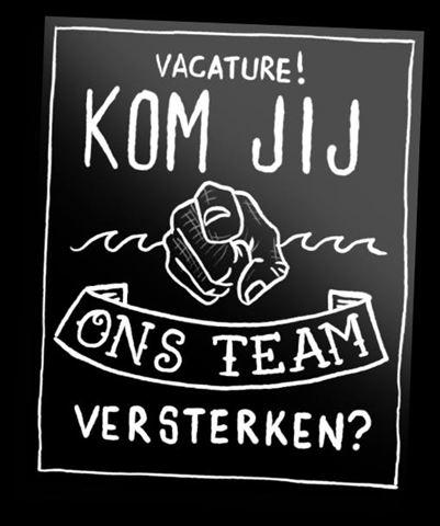 VACATURE! Wij zijn op zoek naar een nieuwe collega!