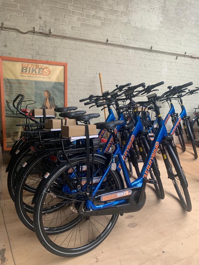 Berry heeft weer veel nieuwe E-bikes voor de verhuur klaar staan!!